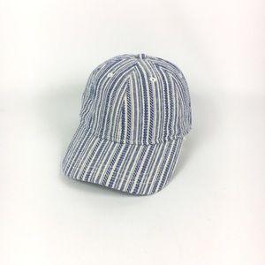 Madewell baseball cap in textural blue